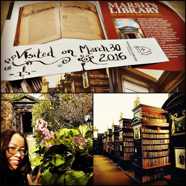marsh library collage
